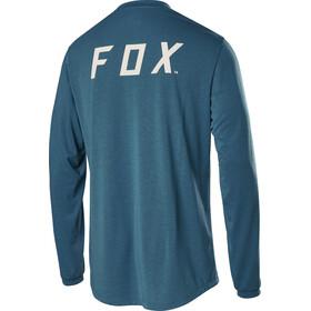 Fox Ranger Dri-Release Longsleeve Jersey Heren, aqua